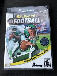 backyard football nintendo gamecube 2002 ebay