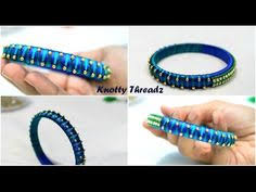how to make silk thread bridal jhumkas at home tutorial knotty