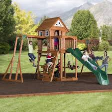 Metal Backyard Playsets 128 Best Wooden Playsets Images On Pinterest Wooden Swings