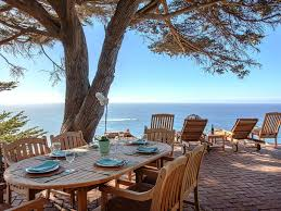 The Cliff House Dining Room 3670 Cliff House Sweeping Mountain Homeaway Big Sur