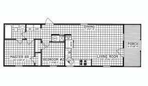 2 bedroom floor plan c 7101 hawks homes manufactured