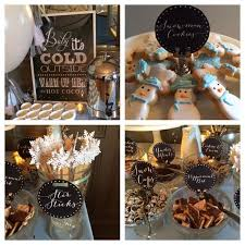 2nd baby shower ideas a winter themed baby it s cold outside shower summer