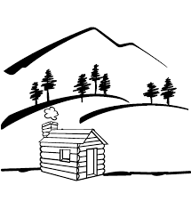 mountain outline cliparts clip art library
