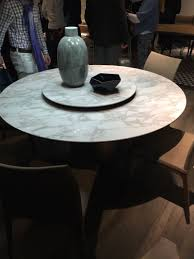 99 dining room tables that make you want a makeover marble dining table with a lazy susan system