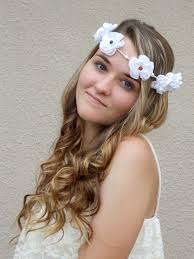 hippy headband hippie floral crown mojo s free spirit
