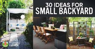 Ideas For Small Backyard 30 Small Backyard Ideas That Will Make Your Backyard Look Big