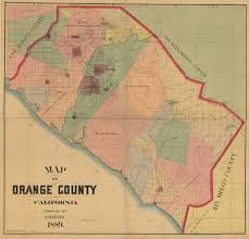 County Map Of California Map Of Orange County 1889 This Map By S H Finley Was Mad U2026 Flickr