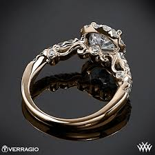 verragio wedding rings verragio half eternity halo engagement ring 1915
