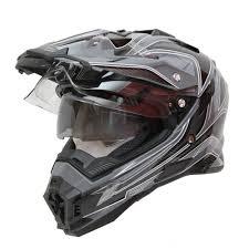 motocross helmet motocross helmet cyber ux 33 black grey insportline