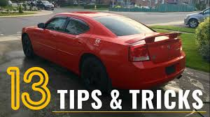13 dodge charger mopar tips tricks u0026 hacks u2013 things you didn u0027t