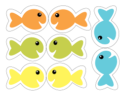 printable fish template free preschool toddler class