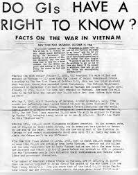 national liberation front anti american leaflets used during the