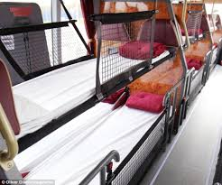 Does Megabus Have Bathrooms Megabus Launch Bus With Beds Which Will Travel From London To