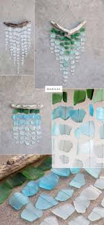 sea home decor 17 creative diy home decorations with colored glass and sea glass