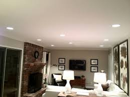 Recessed Light Bathroom Living Room Regency Homebuilders Open Concept Living Large