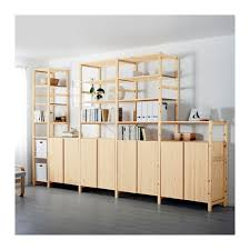 ivar ikea ivar 5 sections shelves cabinets pine 389x50x226 cm ikea