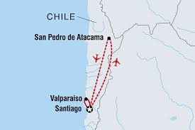 Atacama Desert Map Chile Tours U0026 Travel Intrepid Travel Us