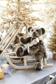 364 best teddies 2 unconditional love in a cuddly soft package white silver gold and gray at christmas suzanne kasler s holiday collection for ballard designs