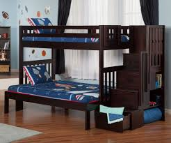 Twin Over Twin Loft Bed by Twin Over Full Loft Bed With Stairs U2013 Home Improvement 2017 Twin