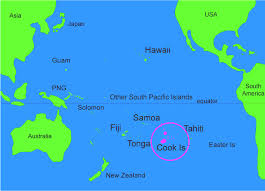 where is cook islands located on the world map cook islands ibc
