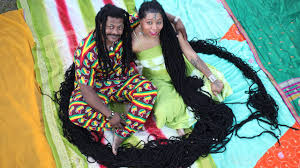 logest pubic hair ginniss book of rec ords newly dreads woman with world s longest dreadlocks weds her