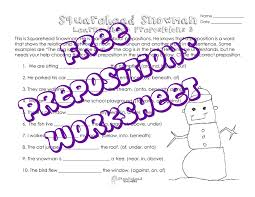 squarehead snowman preposition practice 3 squarehead teachers