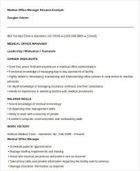 Professional Highlights Resume Examples by Free Manager Resume Templates 40 Free Word Pdf Documents