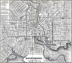 Map Of Maryland Baltimore City And County Maryland Maps And Gazetteers
