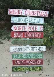 christmas decorations holiday wood signs outdoor indoor outside