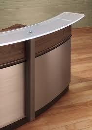 Metal Reception Desk Circular Reception Desk Modern Reception Desks Stoneline Designs