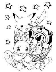 pokemon happy birthday coloring pages olegandreev me