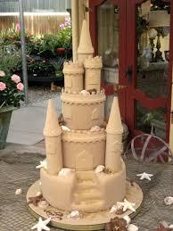 Wedding Cake Castle Sand Castle Wedding Cake On Cake Central Maena Pinterest
