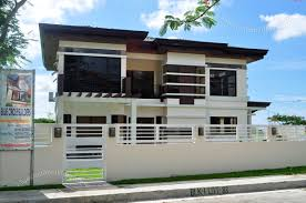 best modern two storey house designs philippines contemporary
