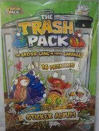 trash pack sticker album 304655 price review buy kuwait
