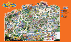 Water Country Map Park Map Splish Splash Waterpark