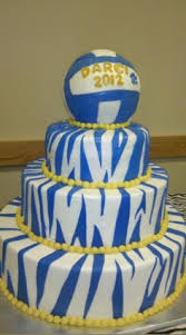 volleyball cakes volleyball theme sweet 16 cake specialty