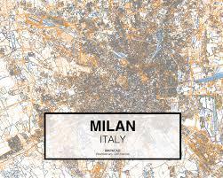 Milano Italy Map by Milan Dwg Mapacad
