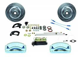 1966 mustang disc brakes buy aluminum tri power front disc brake conversion kit for 1964 5