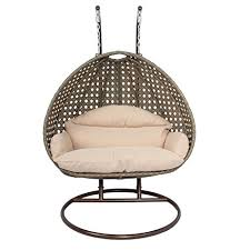 Patio Egg Chair Amazon Com Luxury 2 Person Hanging Egg Chair By Island Gale