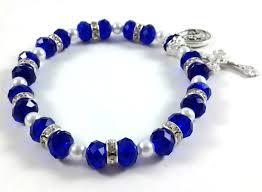 rosary bracelet our of lourdes rosary bracelet
