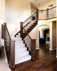 stair railings and banisters indoor railing wooden with bars for stairs bespoke contemporary