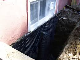 stop leaking basement from outside without tearing your basement apart