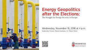 The Geopolitics Of The Orthodox by Energy Geopolitics After The Elections The Struggle For Energy