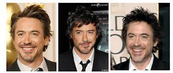 how to cut womens hair with double crown robert downey jr hair style male movie star hairstyles male
