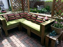 L Shaped Bench Seating Patio Ideas Gallery Of Transform Diy Patio Seating On Patio