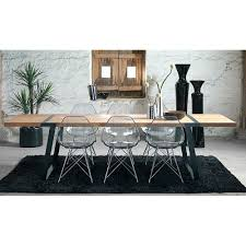 gigant rustic dining room table industrial design modern tables