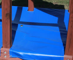 Sandboxes With Canopy And Cover by Custom Sandbox Covers For Your Swing Set Or Playset