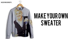 make your own sweater design