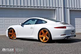 gold porsche 911 porsche 911 s with custom gold 21in victor baden wheels