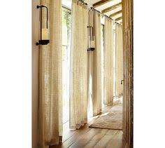 Pottery Barn Linen Curtains Embroidered Aravalli Curtain Anthropologie